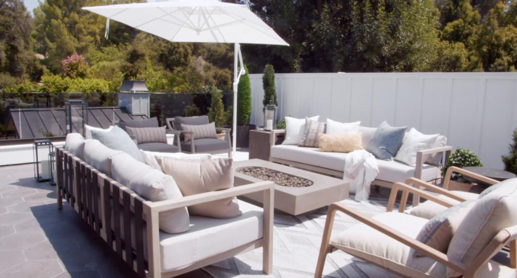 james charles balcony, garden, house tour
