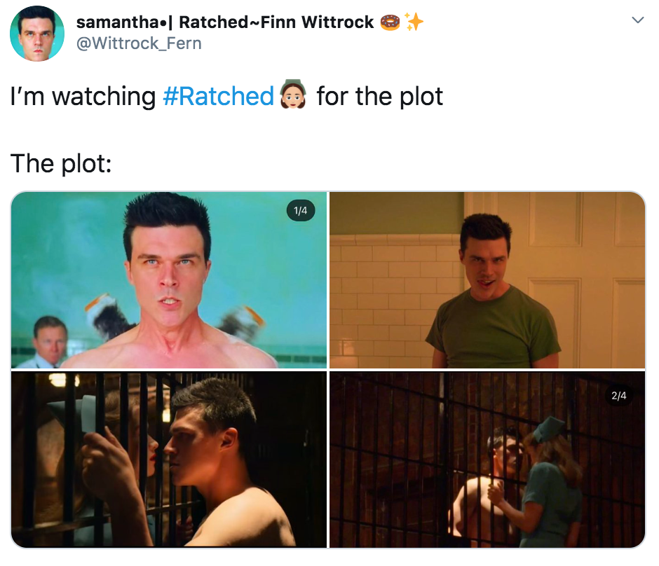 Ratched, memes, meme, reactions, Nurse Mildred Ratched, Netflix, series, show,