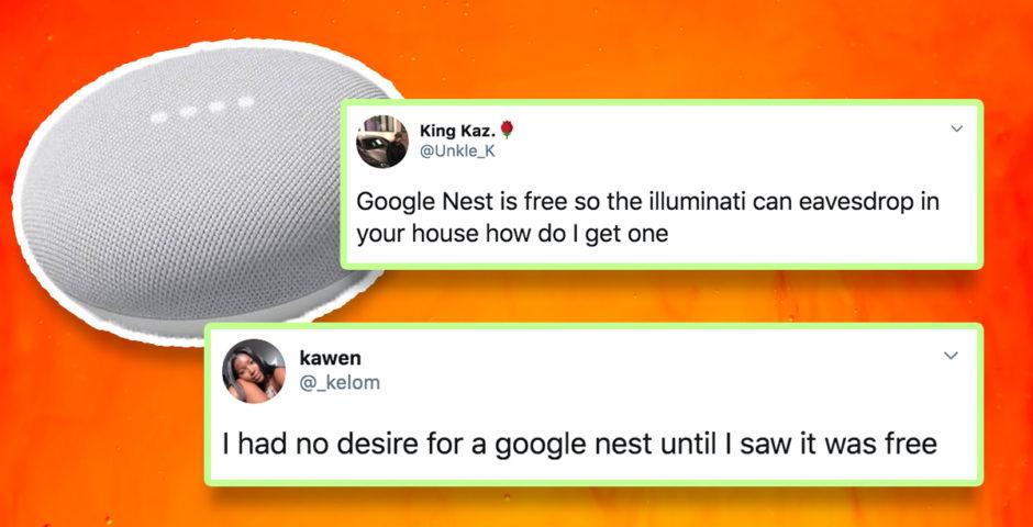Spotify free google nest