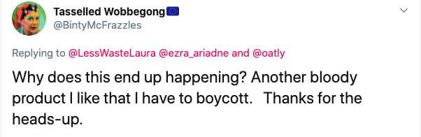 oatly, blackstone, boycott, twitter