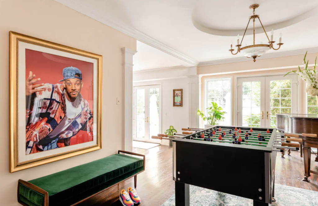 Fresh Prince of Bel-Air, Airbnb, house, mansion, listing, book, stay, pictures, cost, overnight, Bel Air, booking
