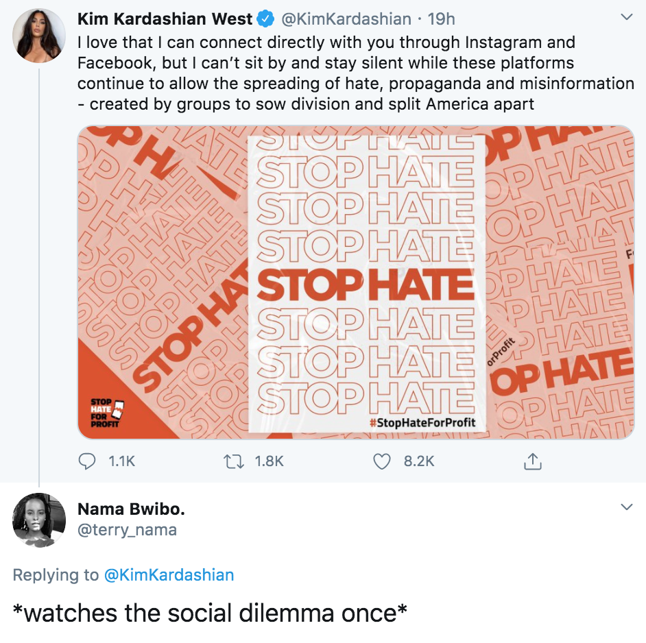 The Social Dilemma, Netflix, memes, meme, reaction, Twitter, reviews, documentary