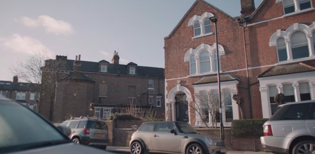 The Duchess, filming locations, Netflix, series, Katherine Ryan, set, based, filmed, London, real life, places, house, home, exterior
