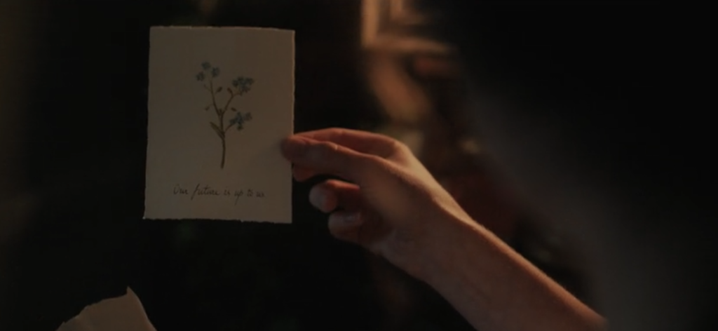 Enola Holmes, ending, explained, finale, line, message, meaning, Millie Bobby Brown, Netflix, Sherlock, movie, film, the future is up to us