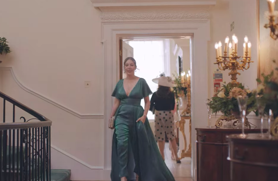 the duchess, katherine ryan, outfits, clothes, netflix