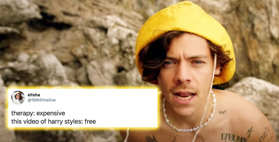 harry styles video for golden has created the most thirsty memes ever harry styles video for golden has