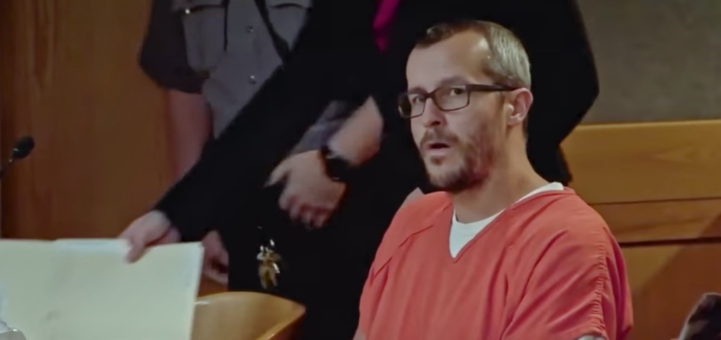 Chris Watts, American Murder, The Family Next Door, Netflix, responds, comment, prison, cell, jail, reaction, interview