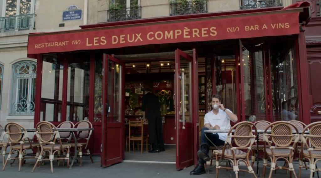 Emily In Paris, filming locations, where, filmed, set, real life, Paris, Netflix, series, show, Les Deux Compères, restaurant, Gabriel