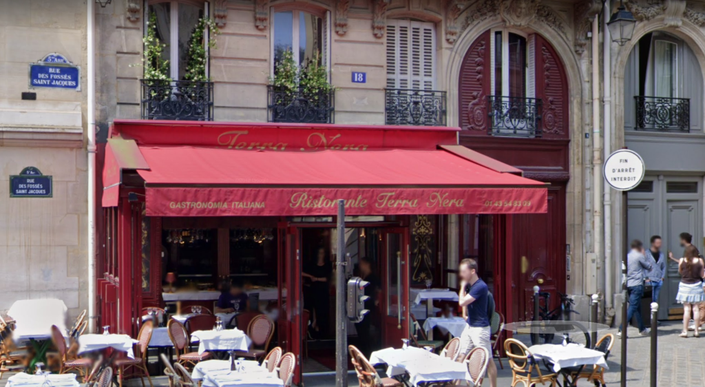 Emily In Paris, filming locations, where, filmed, set, real life, Paris, Netflix, series, show, Gabriel, restaurant, Terra Nera