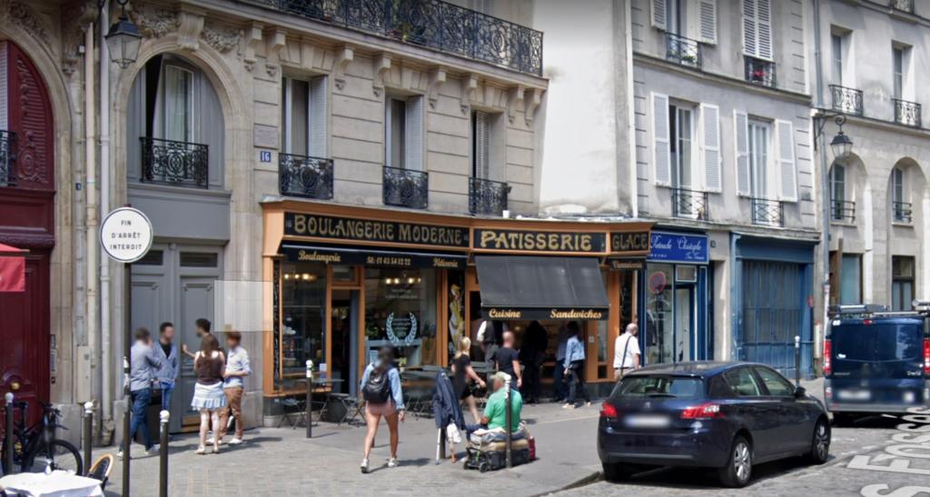 La Boulangerie Moderne, Paris, pastry, shop