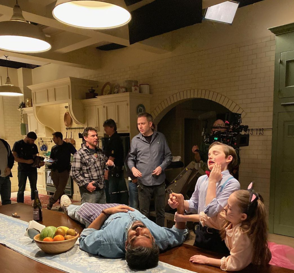 The Haunting of Bly Manor, cast, pictures, behind the scenes, shots, Netflix, Instagram