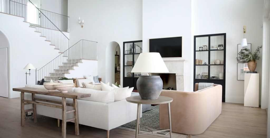 Syd and Shea McGee house, house, home, Utah, location, filming, Syd McGee, Shea McGee, tour, Netflix, Dream Home Makeover, Studio McGee, great room, living room