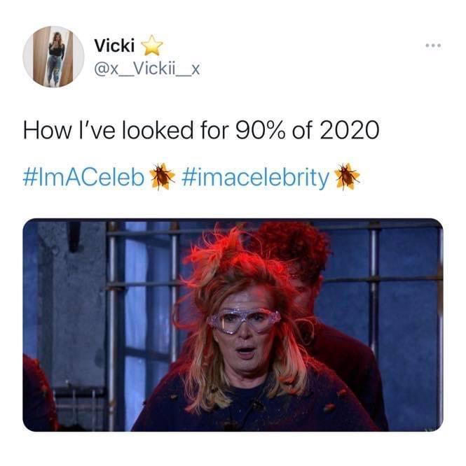 I'm A Celeb, I'm A Celebrity, Get Me Out Of Here, memes, reactions, meme, Twitter, episode one, last night, Beverley Callard, Liz, Corrie