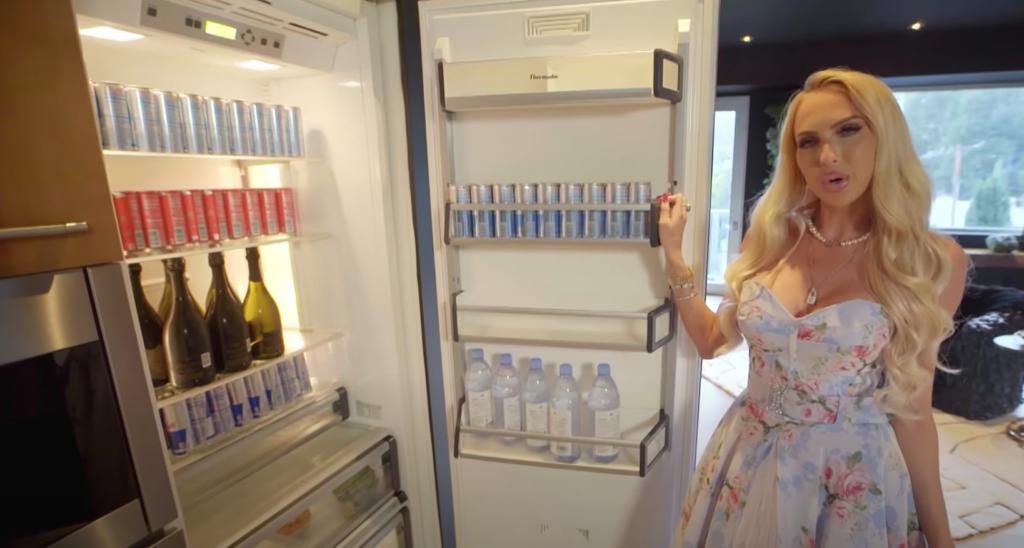 Christine Quinn, house, home, inside, cribs, tour, video, watch, Selling Sunset, MTV, Netflix