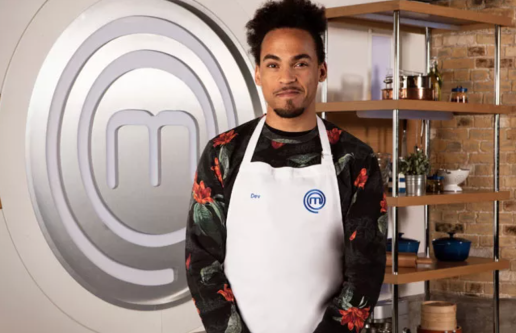 Celebrity MasterChef, Christmas, special, 2020, celeb, festive, episodes, cast, lineup, full, Dev Griffin