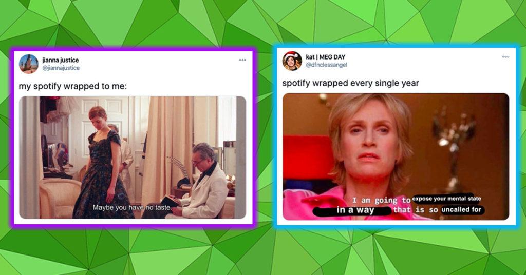 spotify wrapped memes