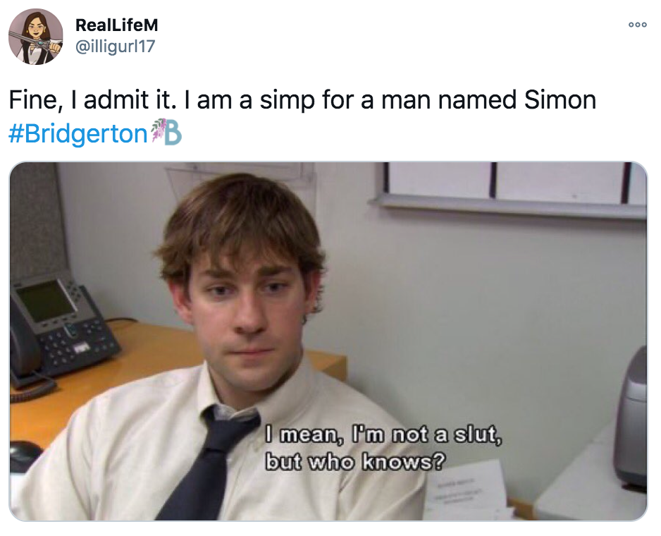 Bridgerton, Netflix, memes, meme, reaction, review, Twitter, best, funny, show, period, drama, Simon, thirsty