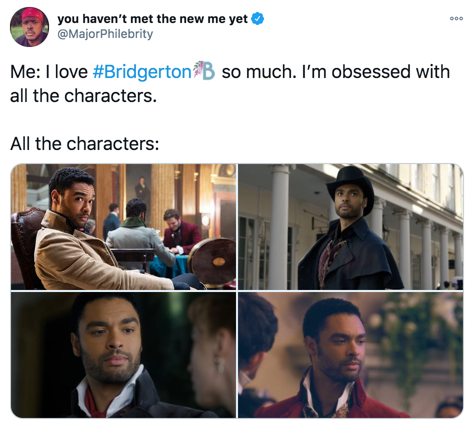 Bridgerton, Netflix, memes, meme, reaction, review, Twitter, best, funny, show, period, drama, the plot, characters, simon, Duke