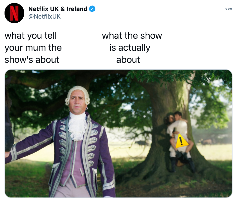 Bridgerton, Netflix, memes, meme, reaction, review, Twitter, best, funny, show, period, drama