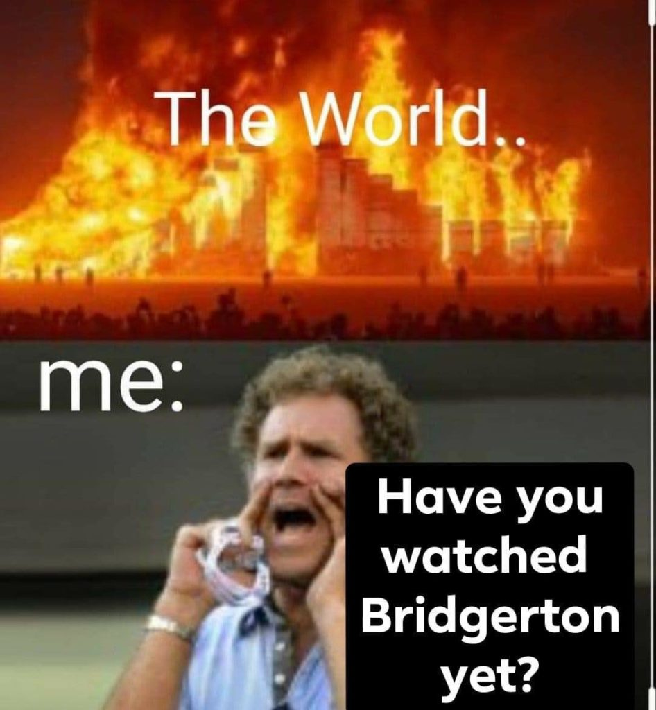 Bridgerton, Netflix, reactions, memes