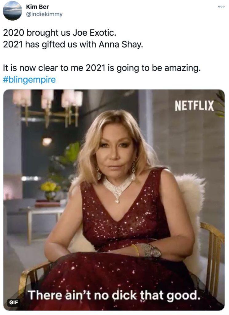 Bling Empire, memes, meme, reaction, Netflix, funny, review, Twitter, Anna