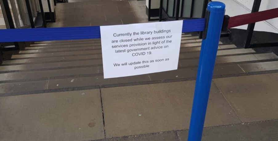 Library closed despite paying tuition fee