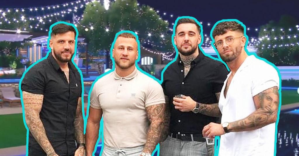 four lads meme