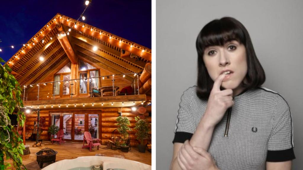 Maisie Adam, the cabins voiceover