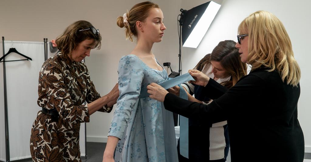 behind the scenes, netflix, costumes