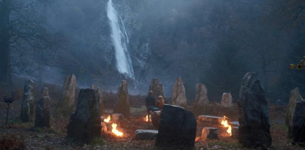 Fate: The Winx Saga, Netflix, filming locations, filmed, set, real life, location, Wicklow, Ireland, waterfall