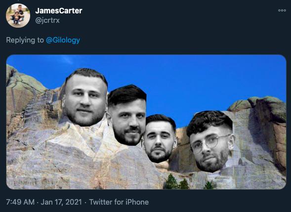 four lads memes