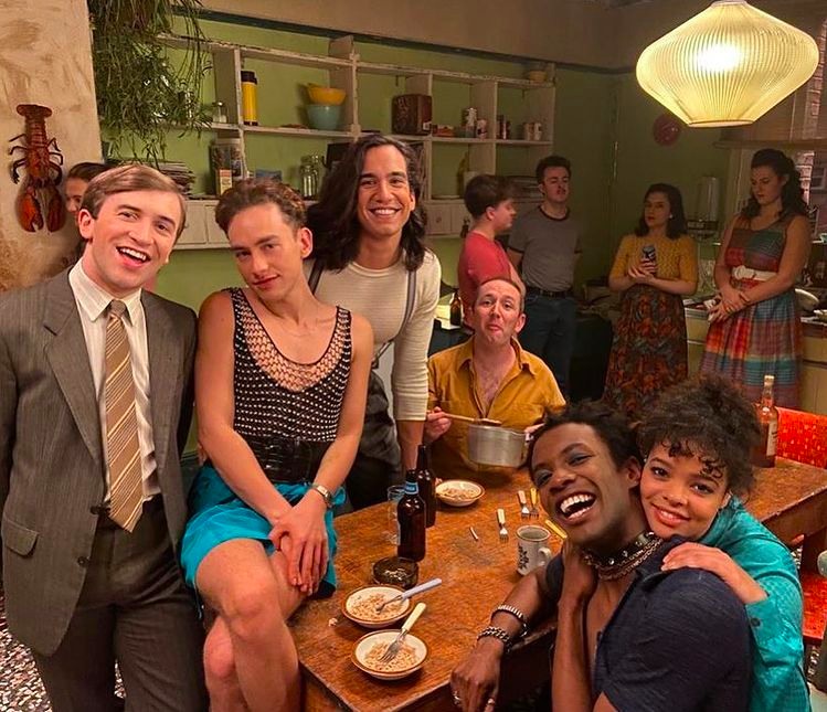 its a sin, cast, behind the scenes