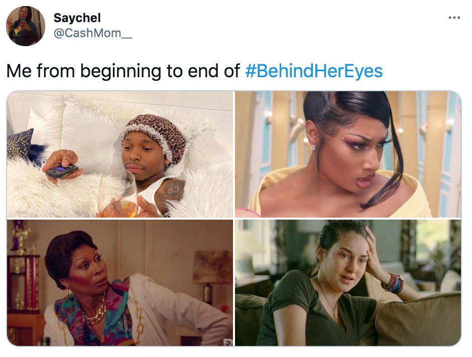 Behind Her Eyes, Netflix, memes, meme, reaction, Twitter, reviews, ending
