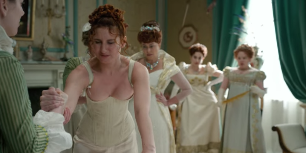 Bridgerton, Netflix, Penelope Featherington, Lady Whistledown, clue, easter egg