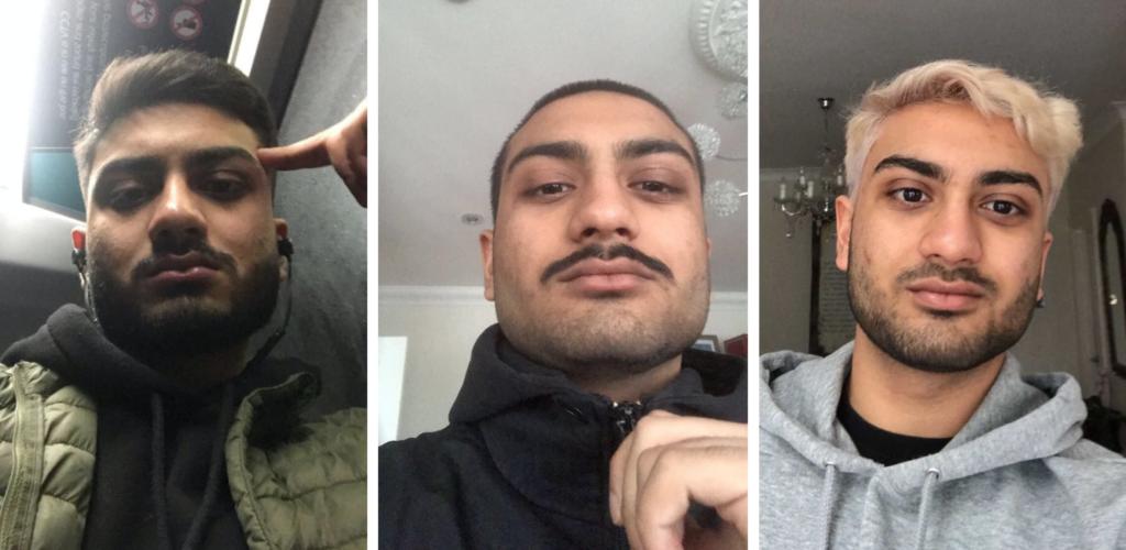 asif, moustache, lockdown
