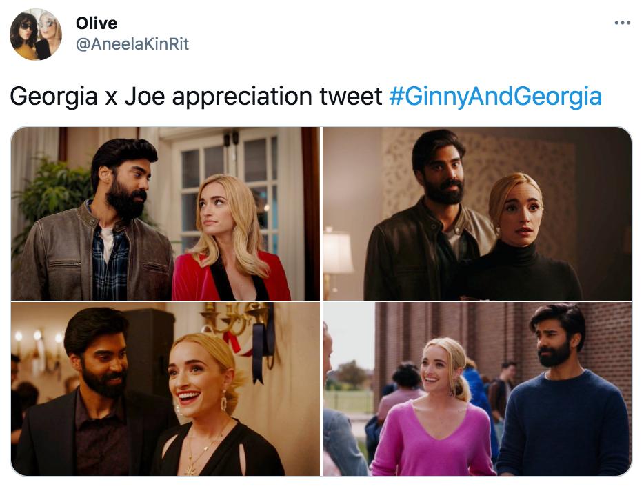 Ginny and Georgia, memes, meme, reaction, Twitter, Netflix, Georgia, Joe