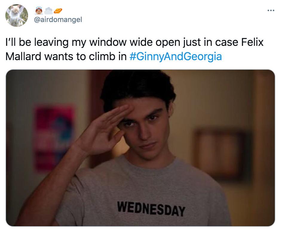 Ginny and Georgia, guys, Netflix, memes, meme, reactions, Twitter, Marcus