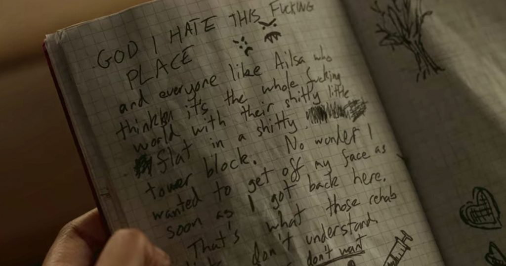 Behind Her Eyes, Netflix, ending, questions, explained, Rob, journal, book, notes