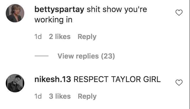 Ginny and Georgia, joke, hate, Instagram, Taylor Swift, fans, comment, Antonia Gentry