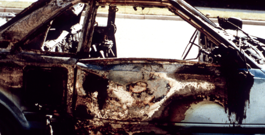 Mark Hofmann, car, bombing, Salt Lake City, Utah