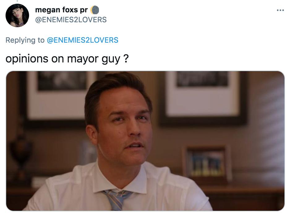 Paul, Mayor, Twitter
