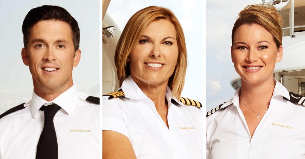 below deck mediterannean, captain sandy, bobby giancola, hannah ferrier