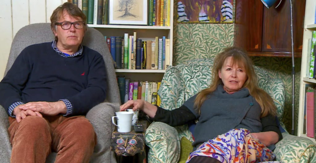 Giles and Mary, Gogglebox, cast, ages, real life, how old, age