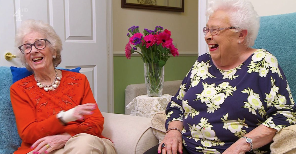 Mary and Marina, Gogglebox, cast, ages, real life, how old, age