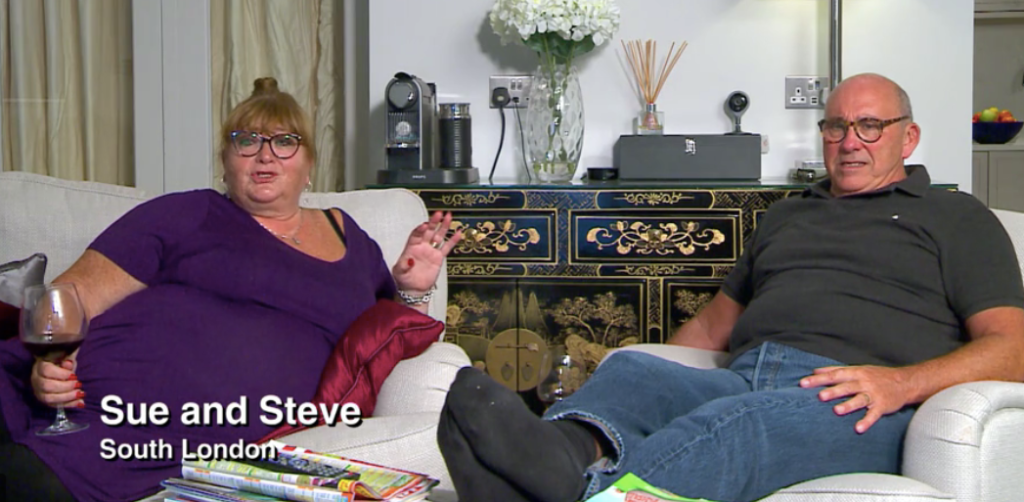 Sue and Steve