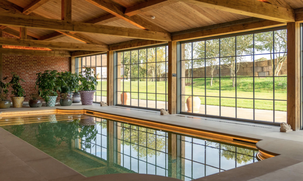 Wilderness Reserve, Suffolk, Made in Chelsea, filmed, house, location