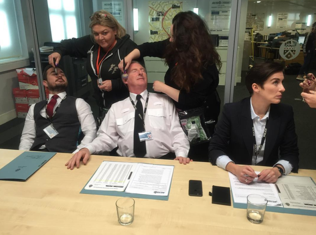 Line of Duty, BBC, production secrets, filming, behind the scenes, interrogation, AC-12