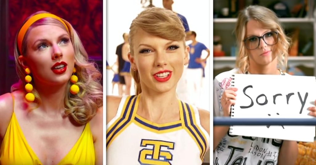 taylor swift lyrics quiz music video