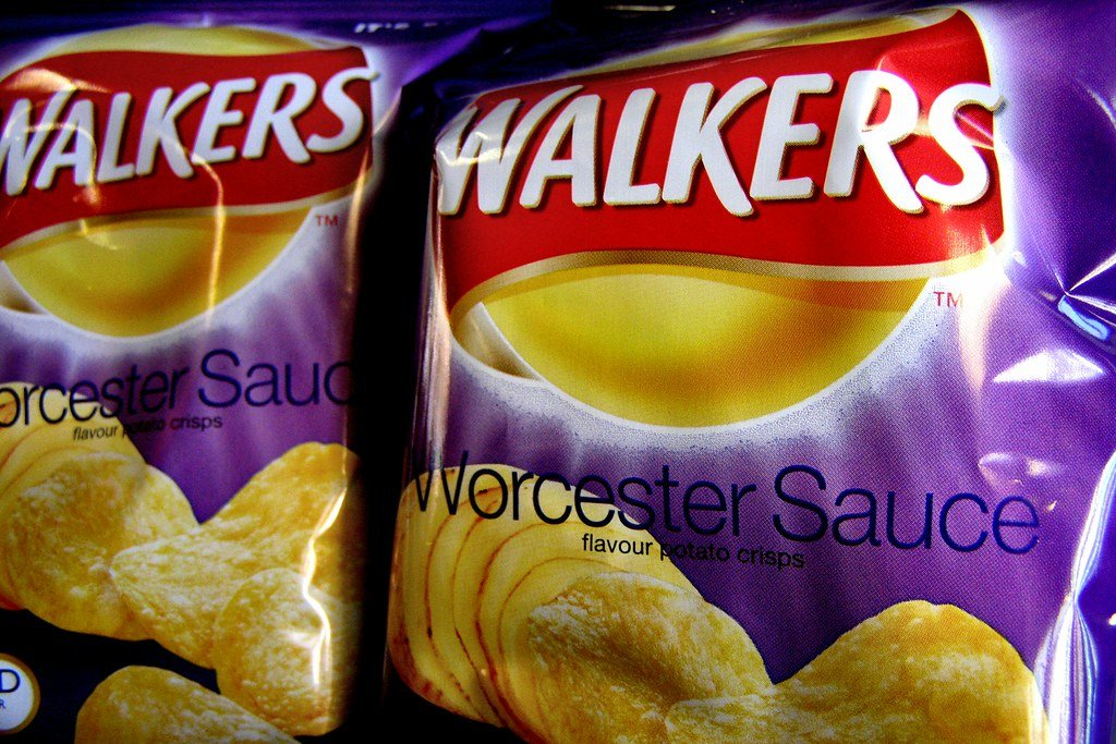 Crisps, Worcester sauce