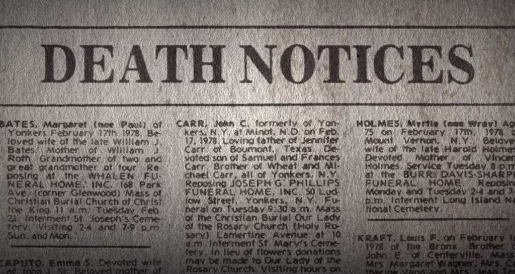 John Carr, son of Sam, The Sons of Sam: A Descent Into Darkness, Netflix, case, true crime, death, David Berkowitz